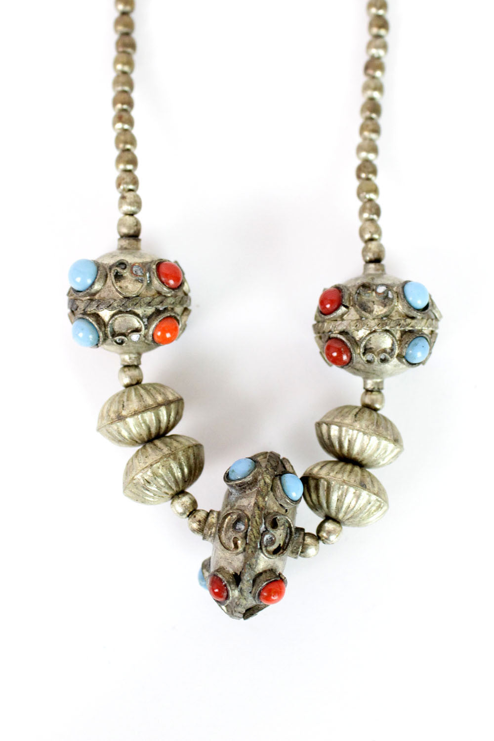 Indus beaded necklace