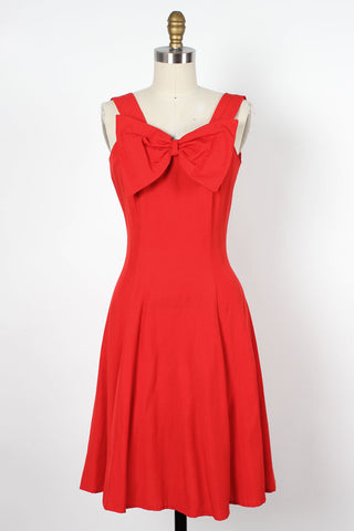 Daisy Dot Scoop Dress XS/S