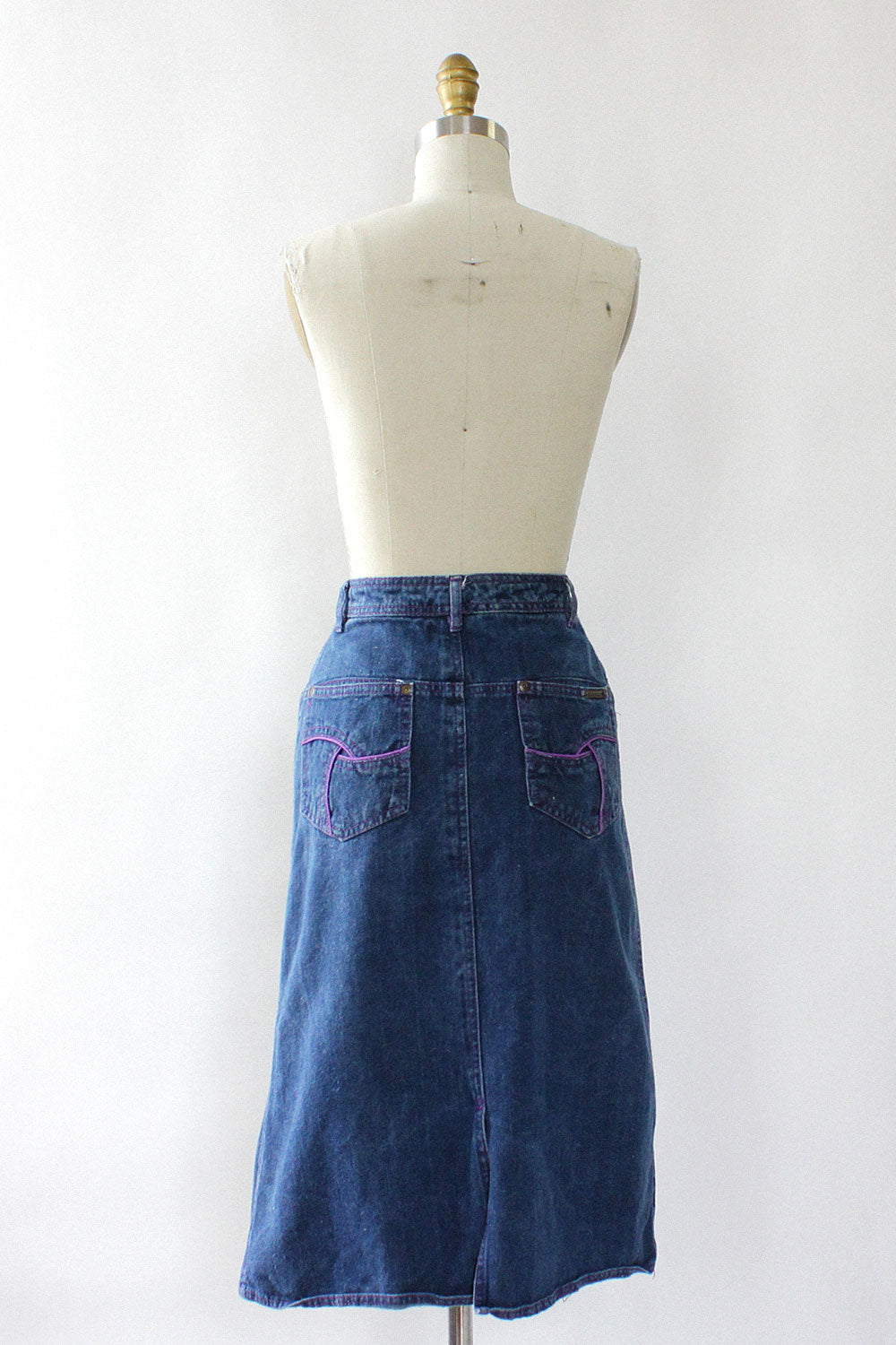 Rolling Wheels Denim Skirt XS/S
