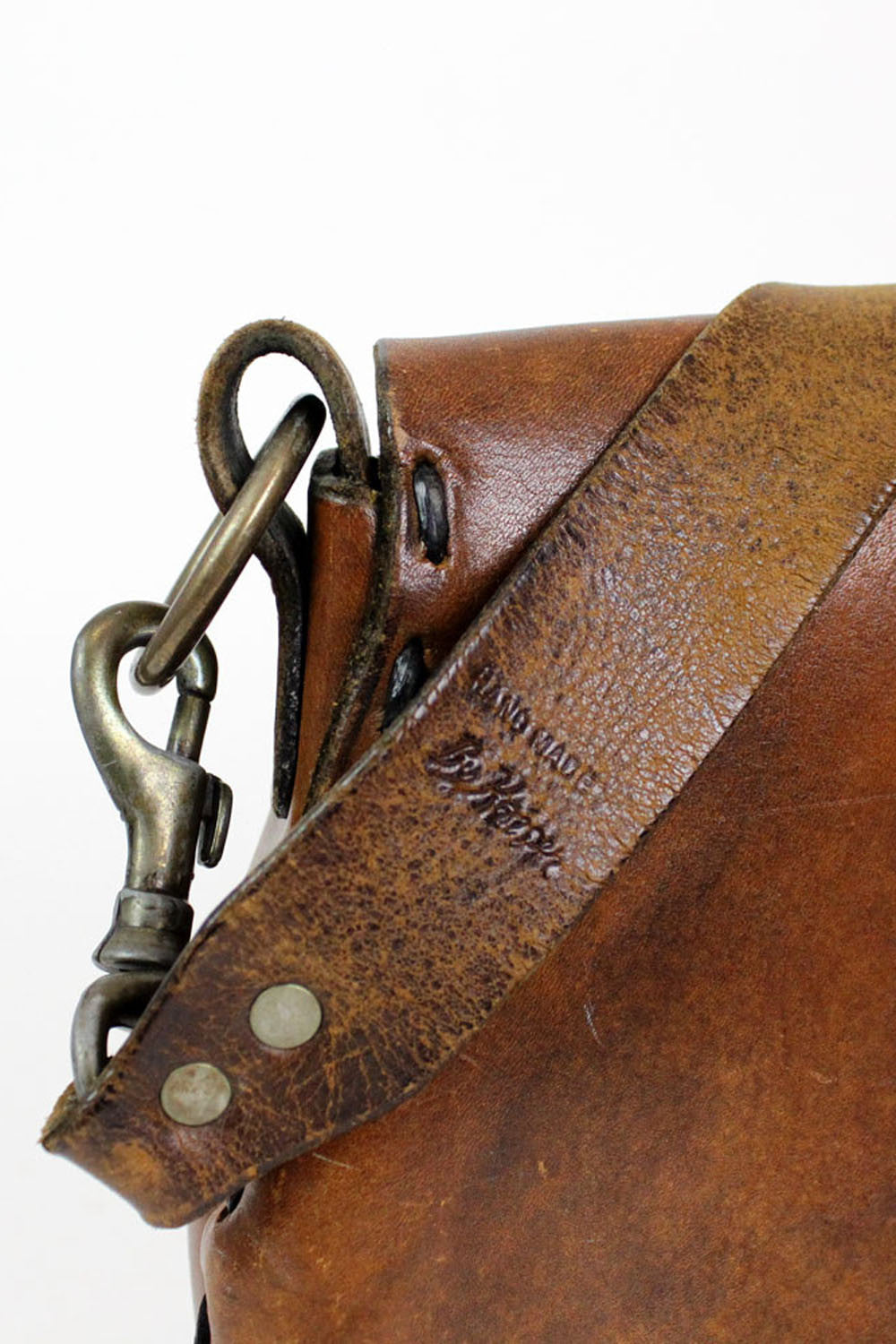 Altamont leather satchel