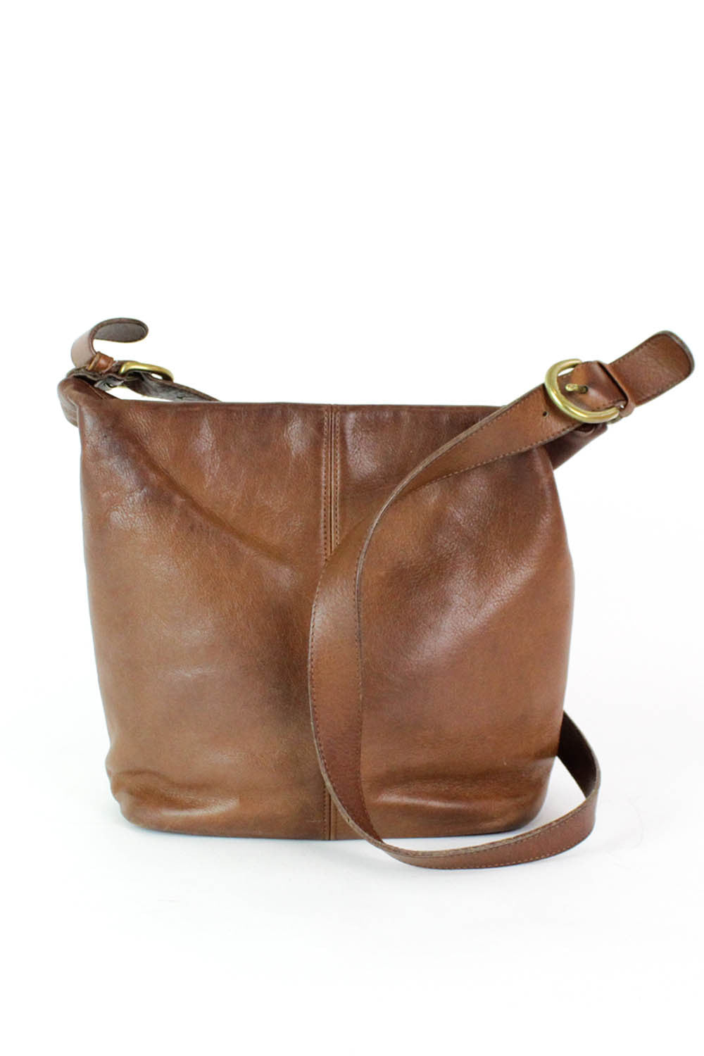 ON HOLD Coach Chestnut Leather Bag