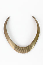 molded brass collar