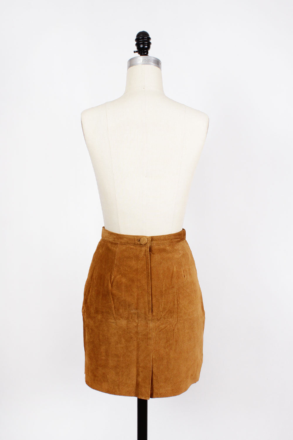 Cafe Suede Mini Skirt S