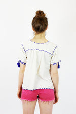 Adelita hippie top