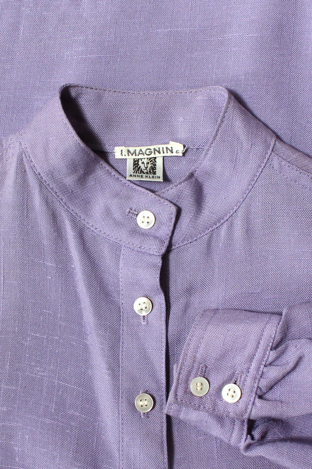 Lilac Linen Pocket Tunic M/L