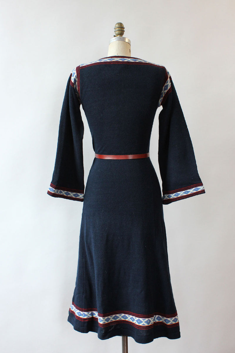 Blue Bell Sweater Dress XS-M