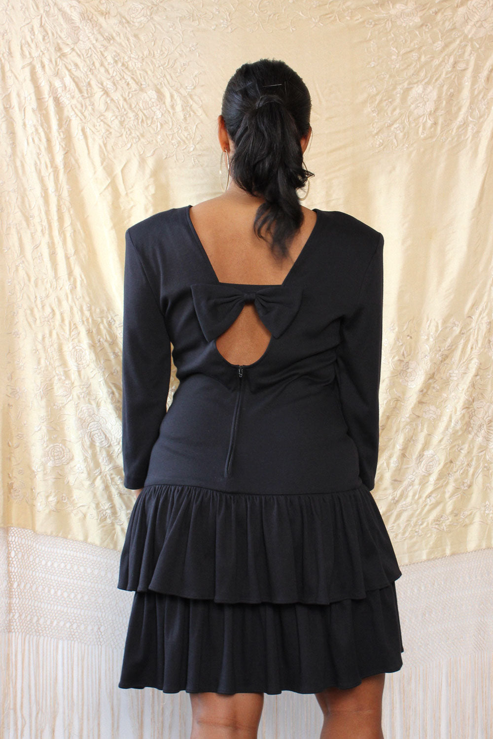 Bow Back Party Dress M/L