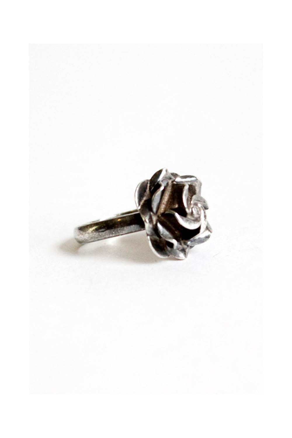 Roses Are Sterling Ring