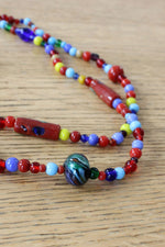 Juicy Fruit Glass Bead Necklace