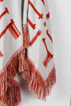 Reversible Native Fringe Poncho