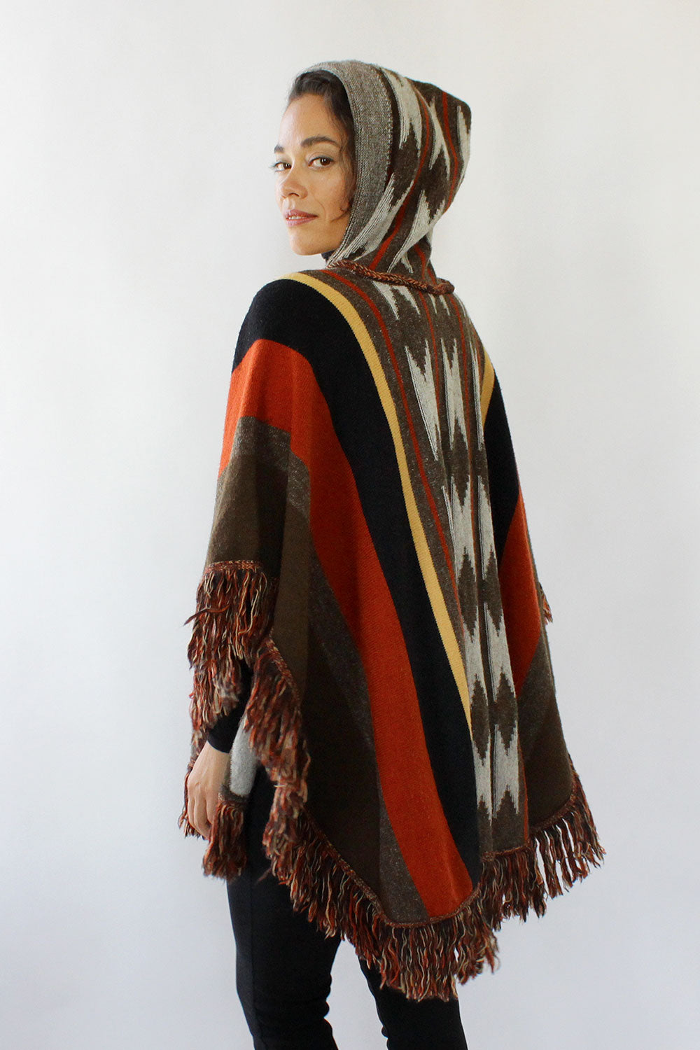 Campfire Hooded Poncho