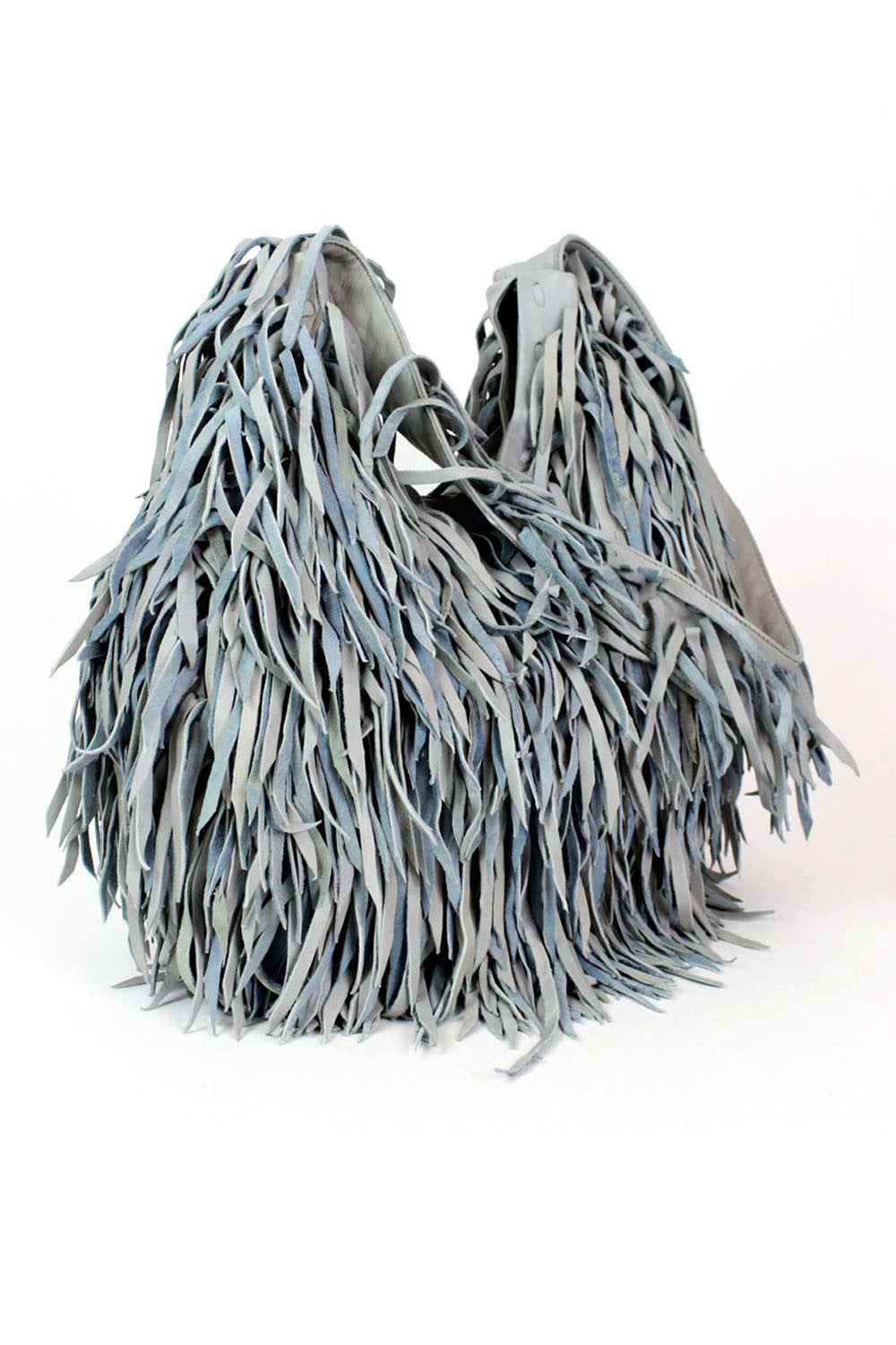 fringe leather hobo