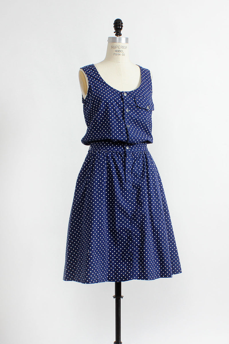 Do The Polka Dot Dress M