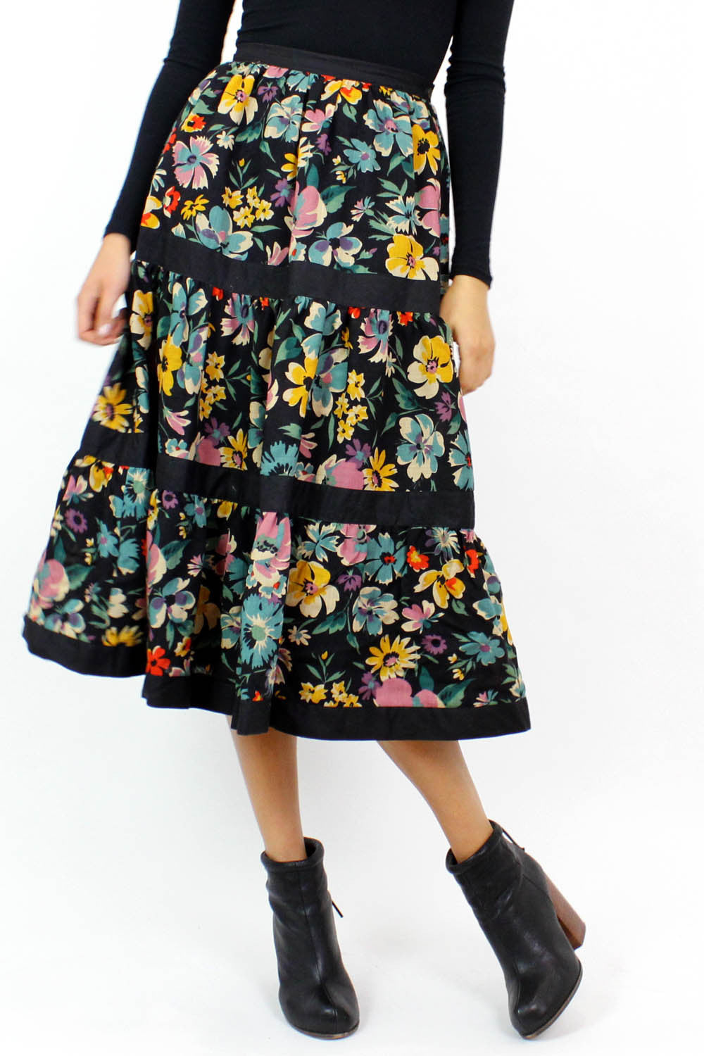 SALE / Bella peasant skirt XS