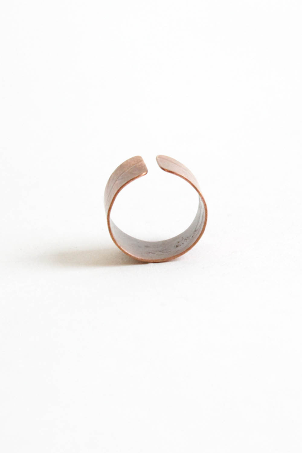 Copper Leaf Ring