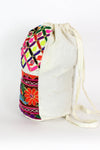 Mirror Embroidered Backpack