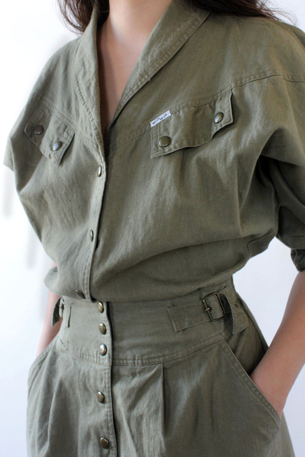 Army Green Utility Dress M/L