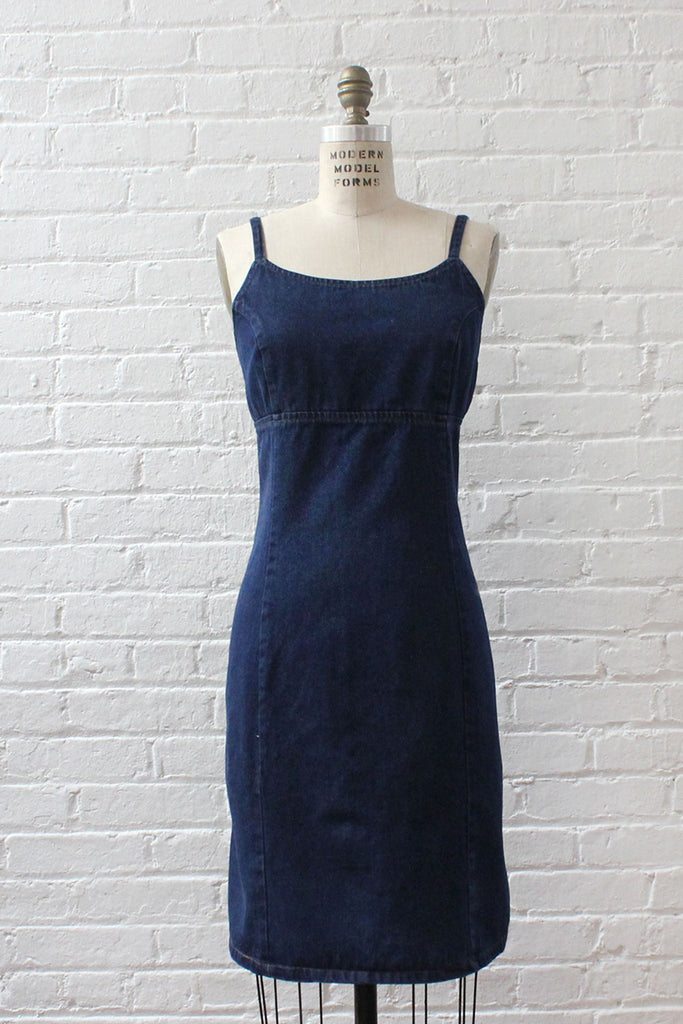 Forenza Dark Denim Dress L