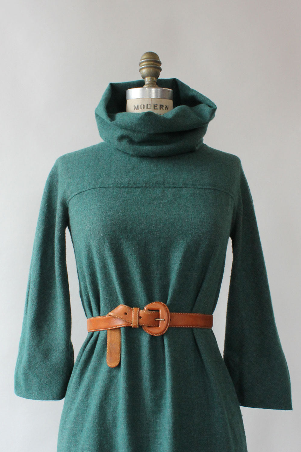 Peacock Cowl Dress S/M