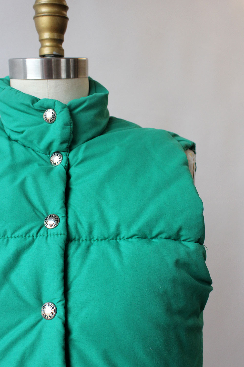 LL Bean Green Down Vest XS/S