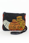 Carlos Falchi Patchwork Purse