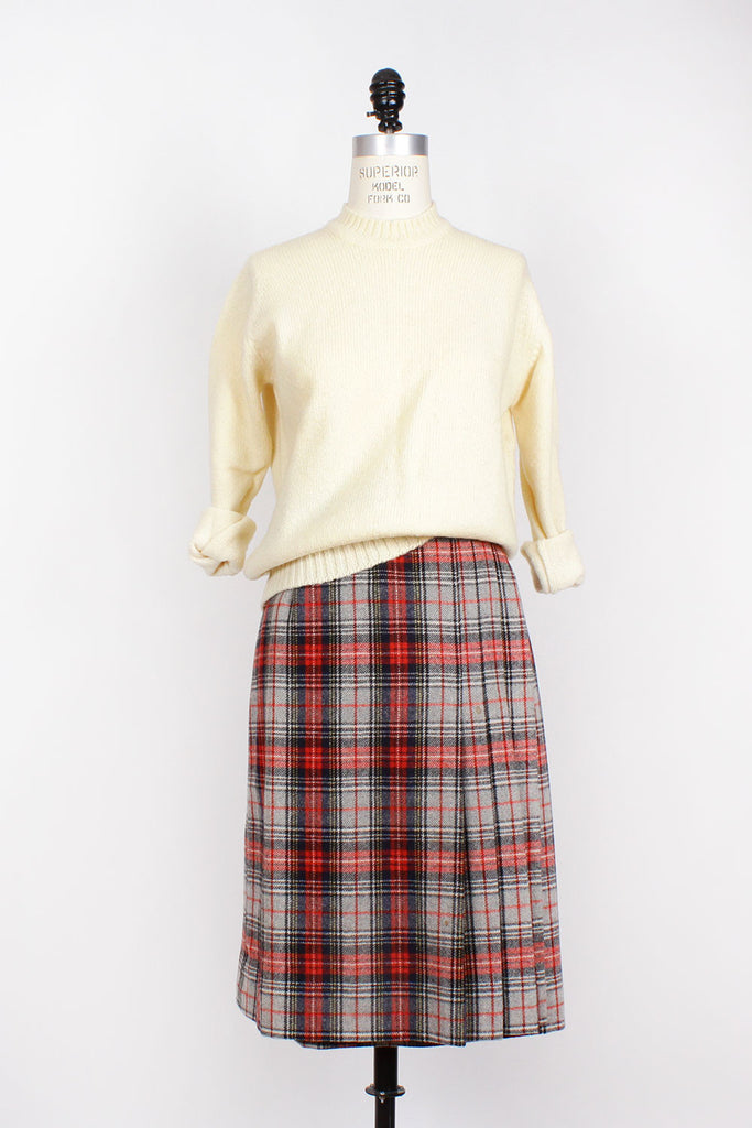 Villager Buckle Skirt M