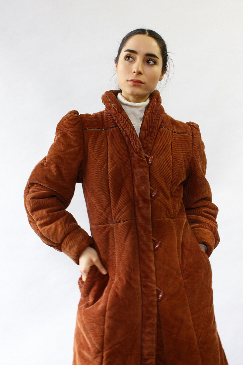 Brentwood Corduroy Puffer Coat S/M