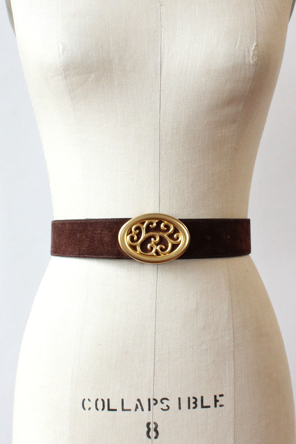 Golden Filigree Belt
