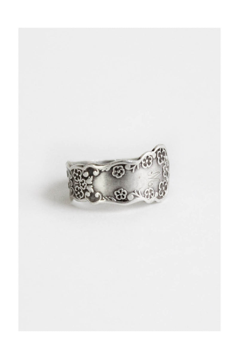Sterling Spoon Ring