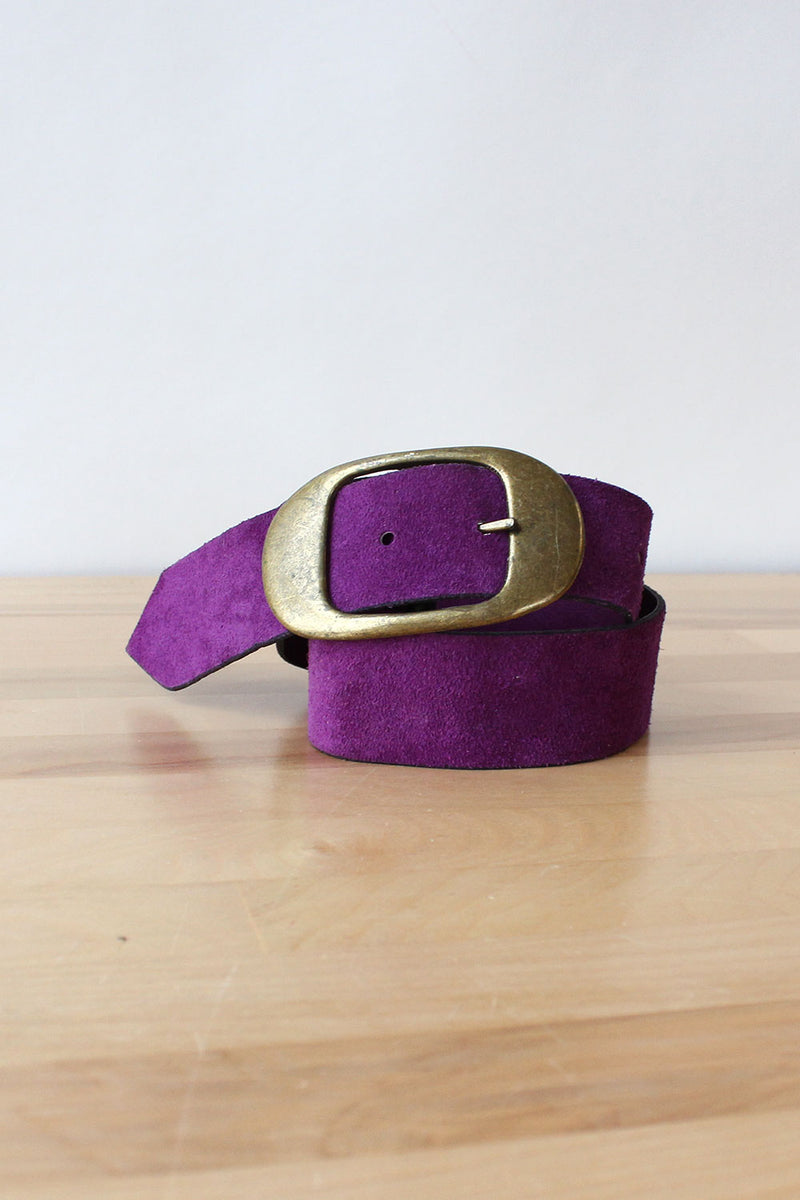 Electric Purple Reversible Belt