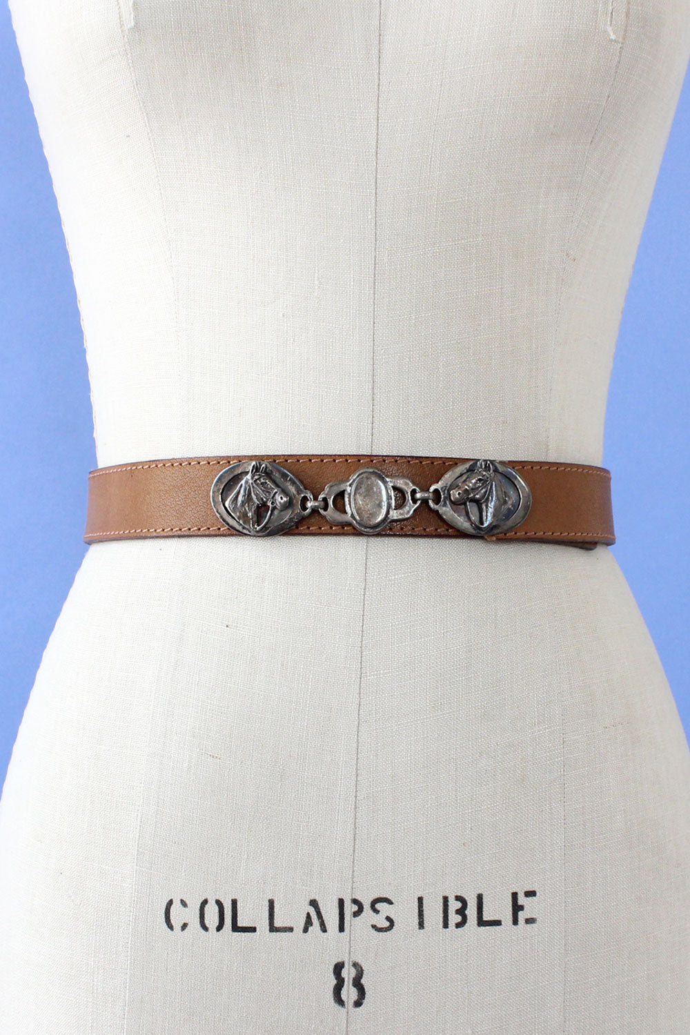 Horse Charm Buckle Belt