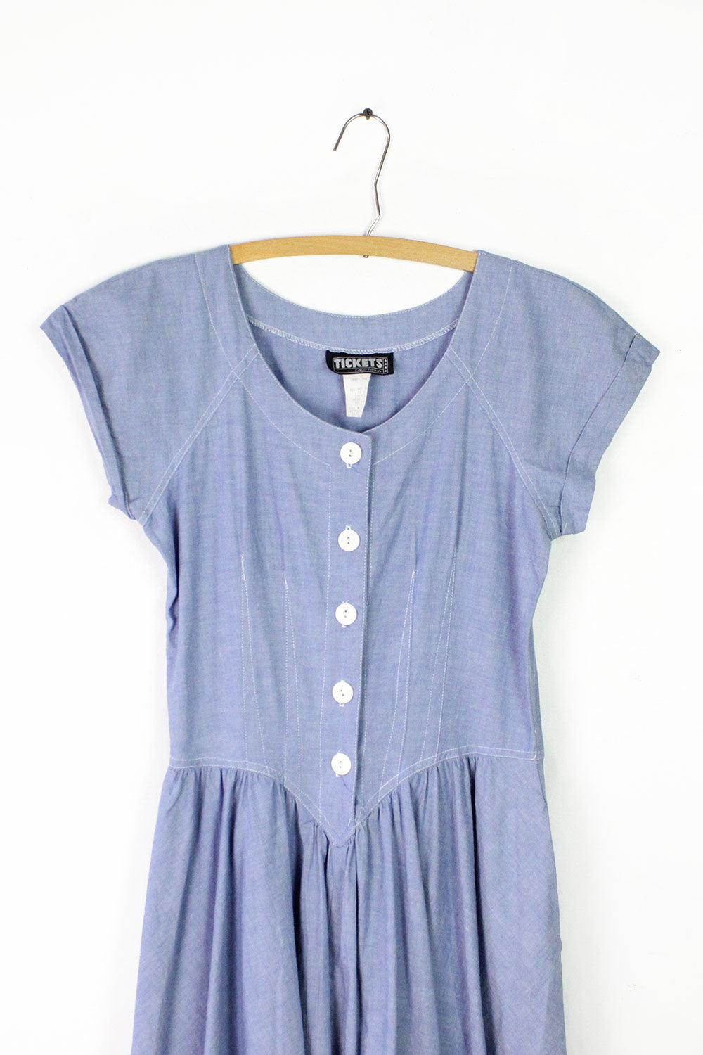 Denim Aurora Dress S/M