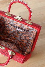 Naples Woven Box Bag