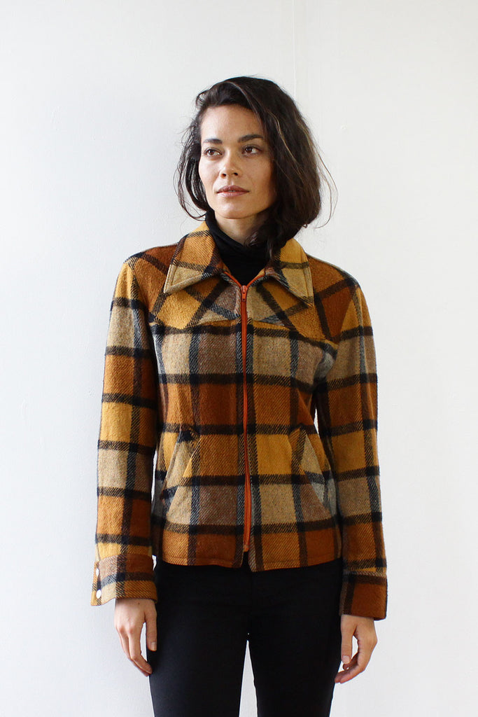 Cabin Fever Plaid Jacket S/M