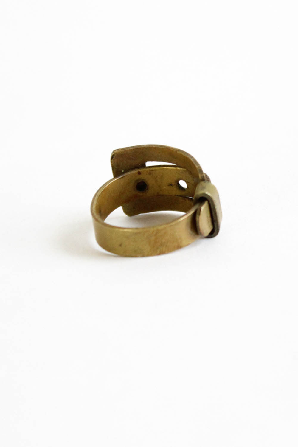 Brass Belt Ring