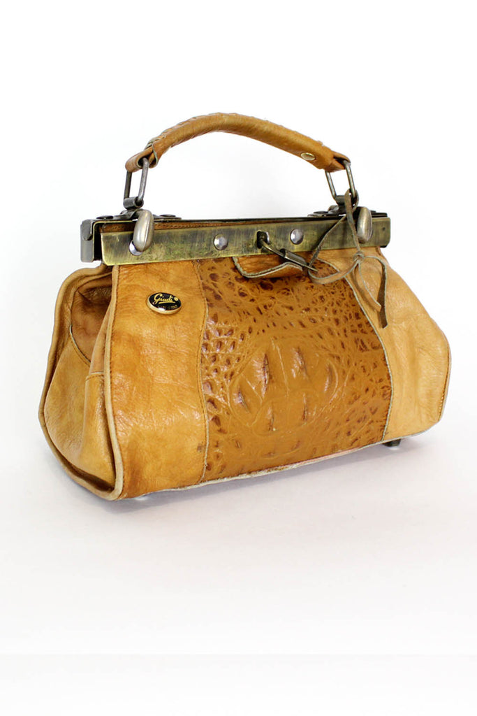 Petite Alligator Doctor Bag