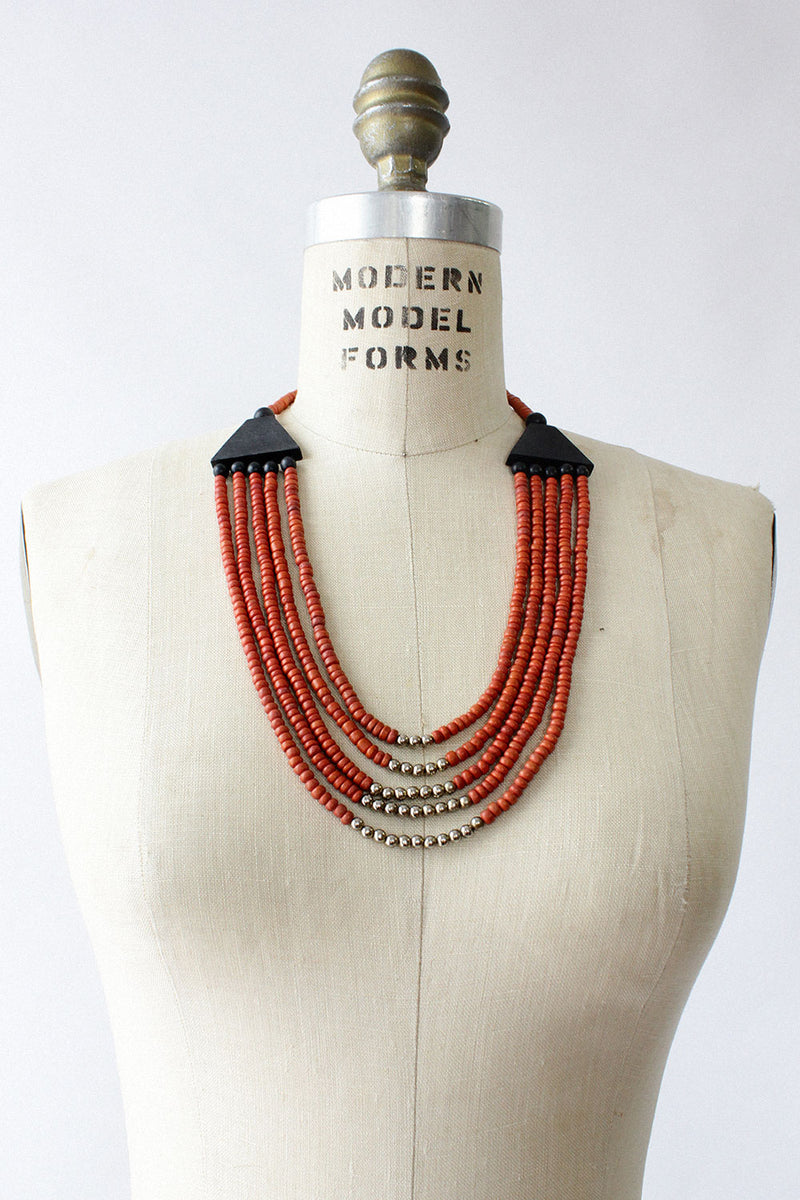 Rumba Beaded Necklace