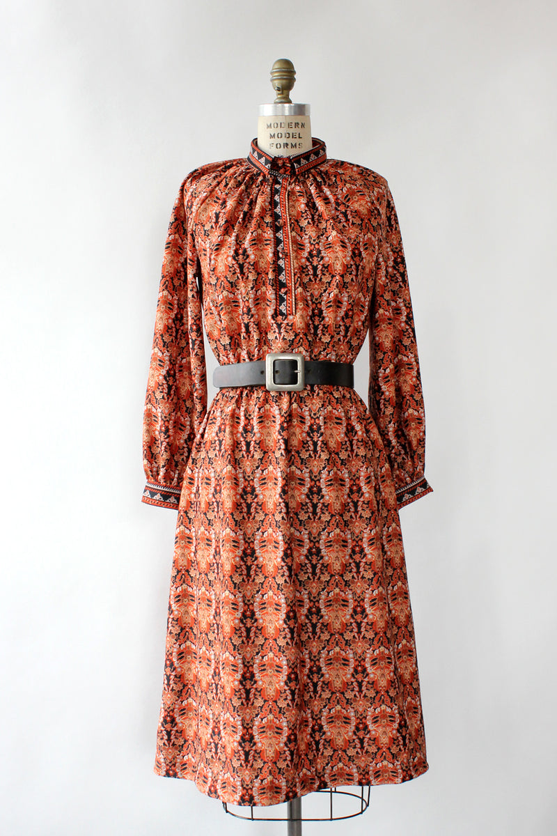 Rosewood Paisley Dress S/M