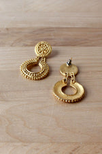 Baroque Golden Dangles