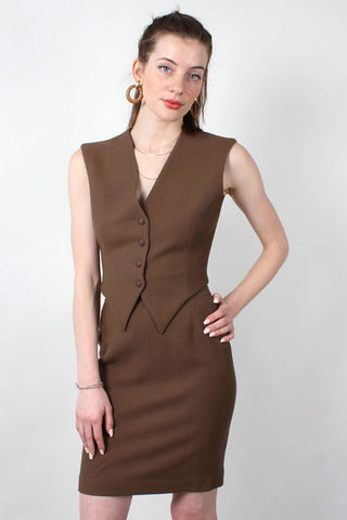 Avocado Cutout Dress XS/S