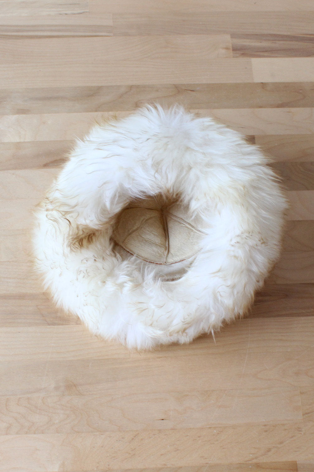 Shearling Marshmallow Hat