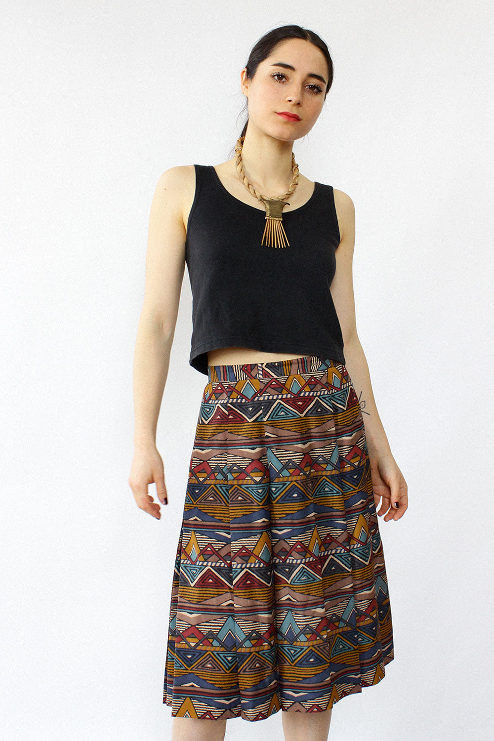 Jaeger World Skirt XS