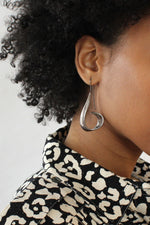 Sterling Swirl Earrings