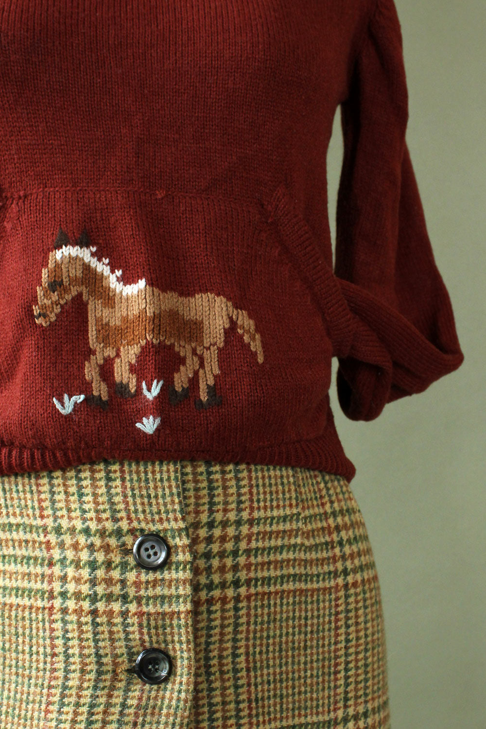 Huk•A•Poo Pony Sweater XS/S