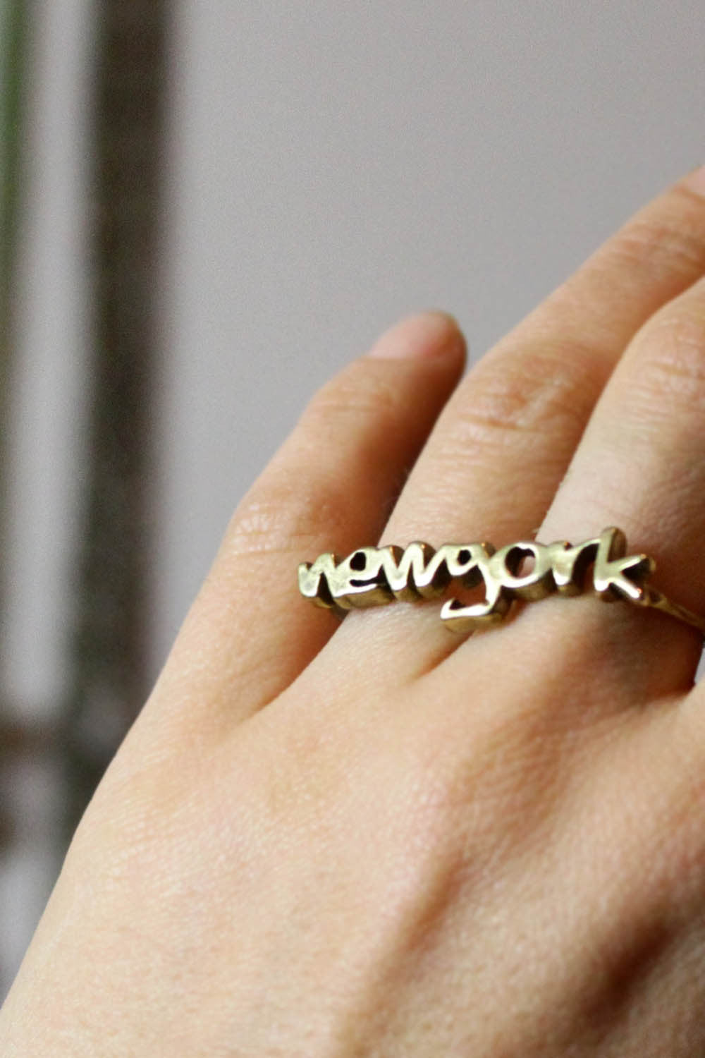 VeraMeat New York Duster Ring