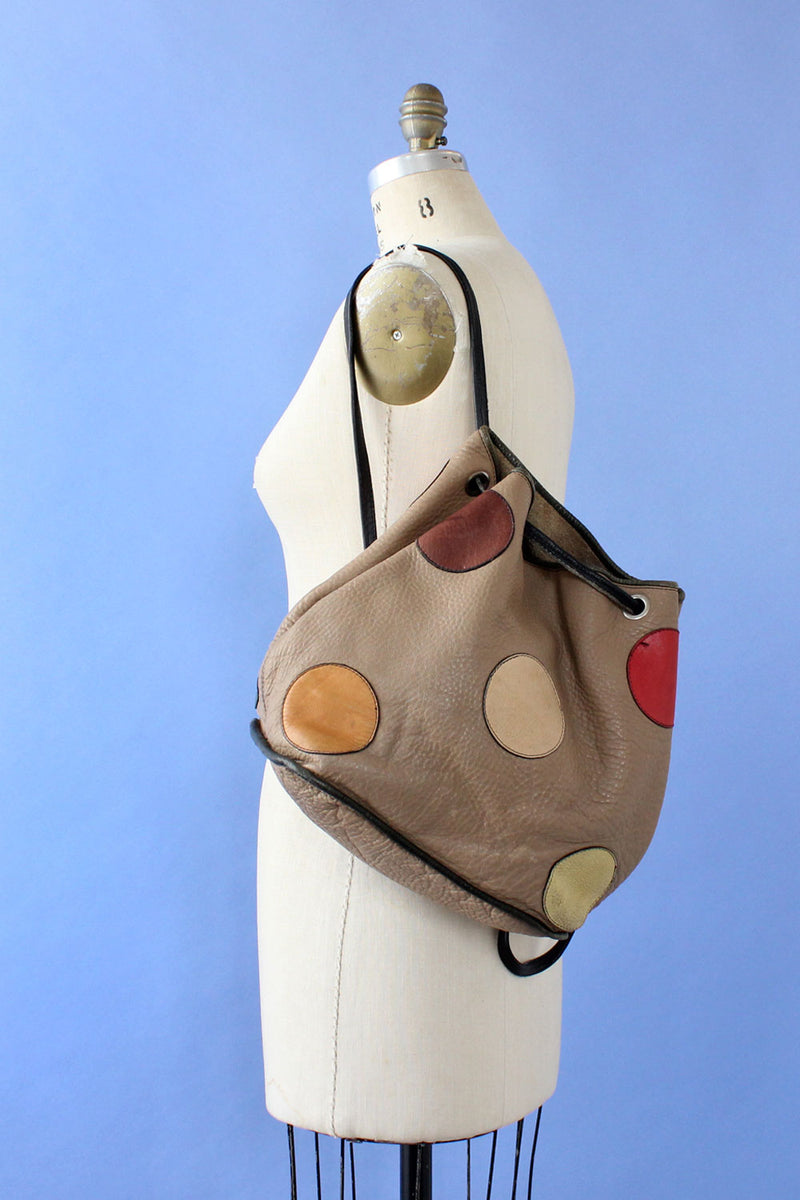 Twister Leather Cinch Backpack