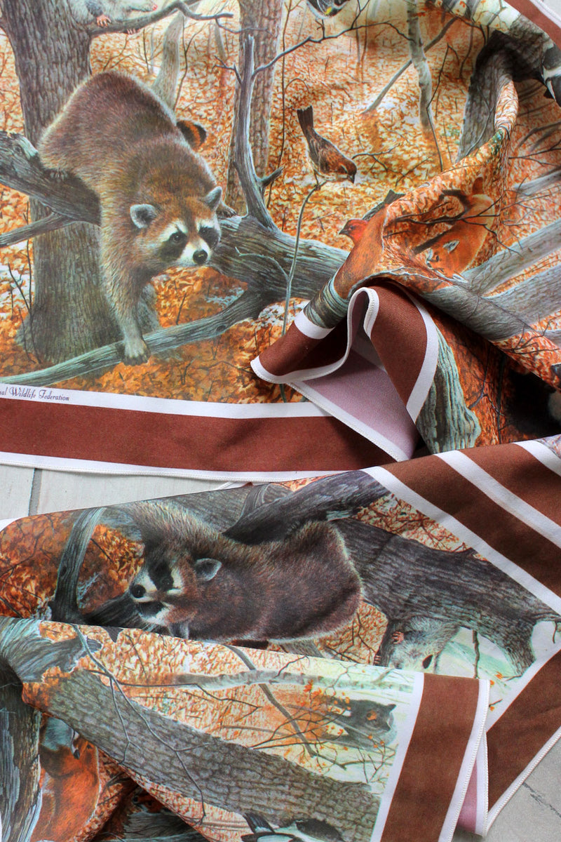 Woodland Wildlife Scarf
