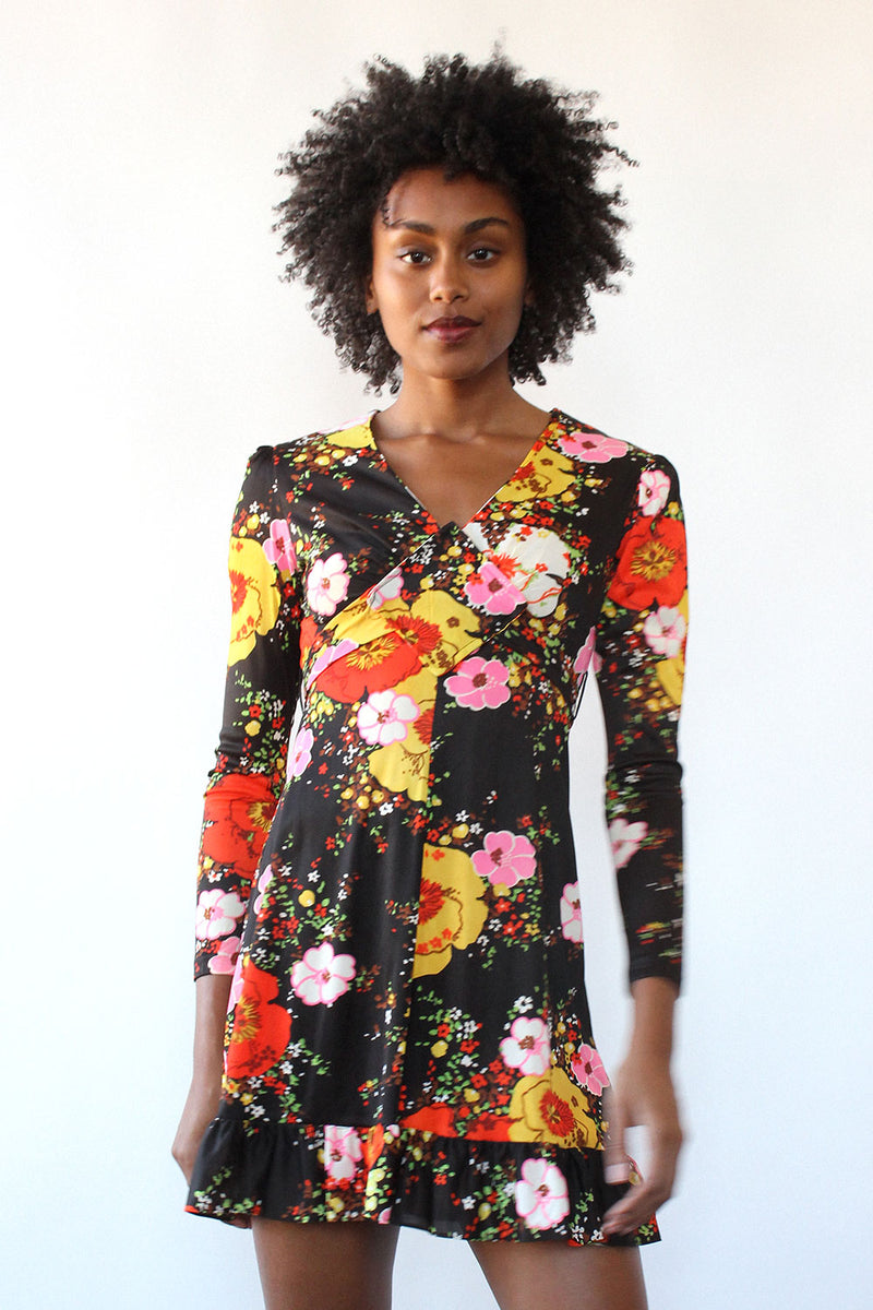 Flirty Floral Mini Dress XS/S