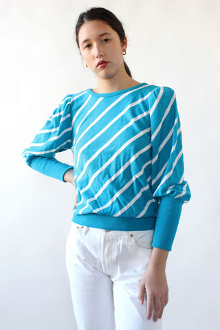 Zigzag Oversized Sweater XS-M