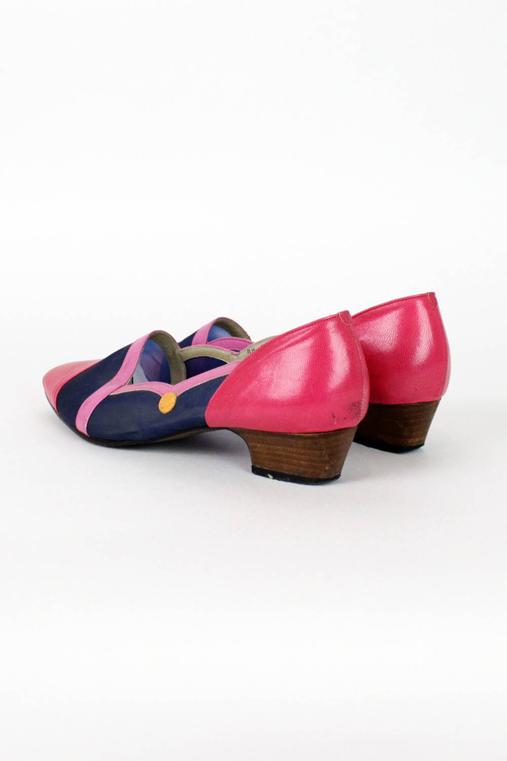 Color Block Mesh Slippers 6